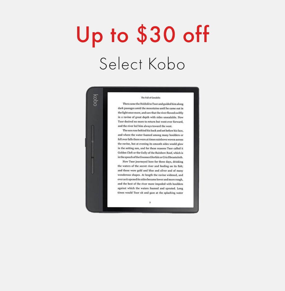 plum member exclusive: Black Friday 2020: up to $30 off select Kobo