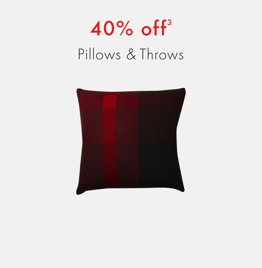 plum Member Exclusive Black Friday 2020: shop 40% off pillows and throws