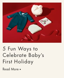 5 Fun Ways to Celebrate Baby's First Holiday