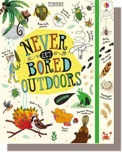 Never Get Bored Outdoors by James MacLaine