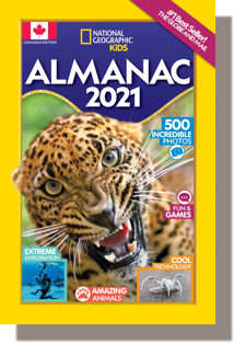 National Geographic Kids Almanac 2021 Canadian Edition by National Geographic Kids