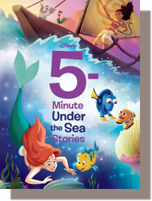 5-Minute Under the Sea Stories by Disney Books