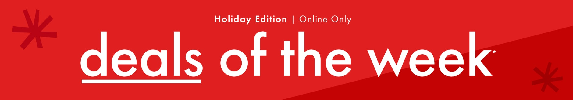 deals of the week - the holiday edition