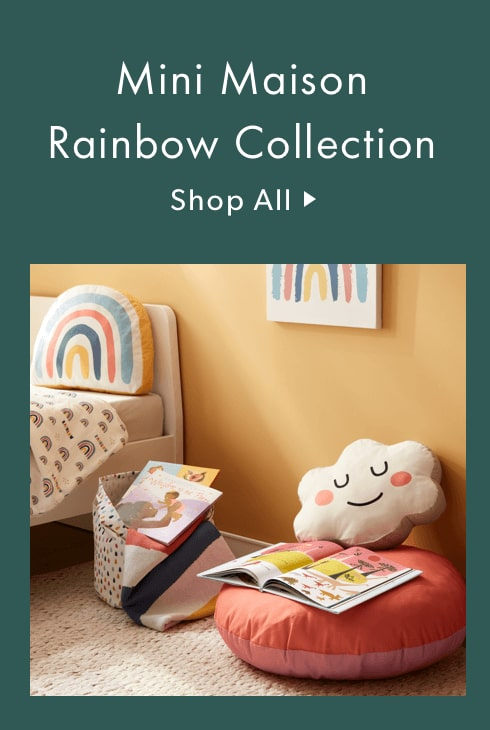 Mini Maison Rainbow Collection - Kids' Home Decor