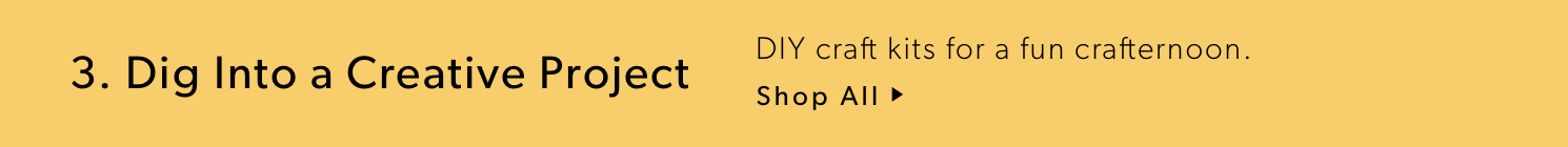 Dig Into a Creative Project: DIY craft kits for a fun crafternoon