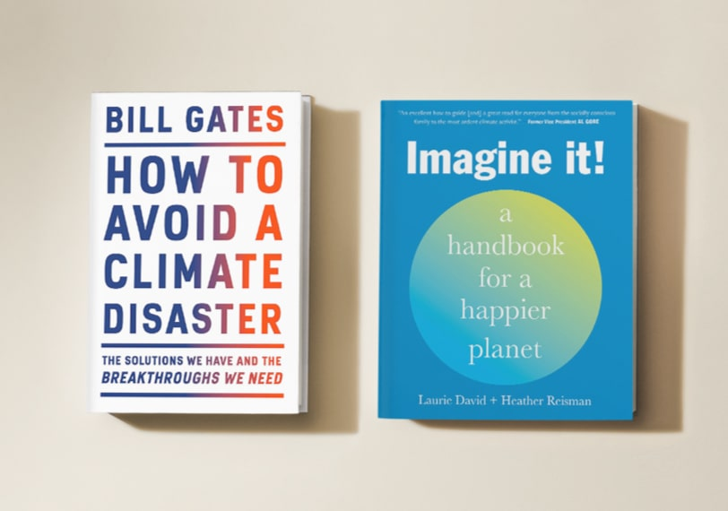 Discover great books to read to help take action against climate change.