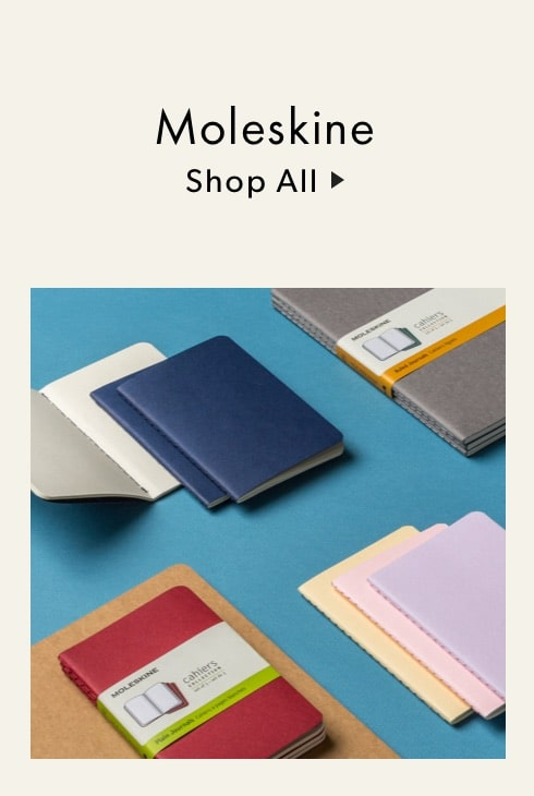 Shop the brand, Moleskine.
