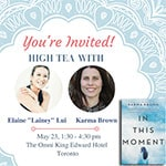 Enter for a chance to WIN an exclusive VIP experience to celebrate the launch of In This Moment by Karma Brown  - Enter for a chance to WIN an exclusive VIP experience to celebrate the launch of In This Moment by Karma Brown