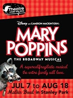 Indigo Rewards Members Receive $10 Off Tickets to Mary Poppins at Theatre Under the Stars! - Indigo Rewards Members Receive $10 Off Tickets to Mary Poppins at Theatre Under the Stars!