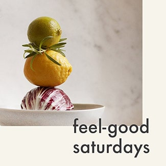 @indigo instagram post: Feel good Saturday with some fresh fruit.