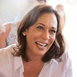 @indigo instagram post: Kamala Harris is officially the first woman, and the first Woman of Colour, to be elected Vice President of United States of America.