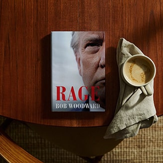 @indigo instagram post: Rage, the latest from legendary Washington Post reporter and two-time Pulitzer Prize winner Bob Woodward, is out today....