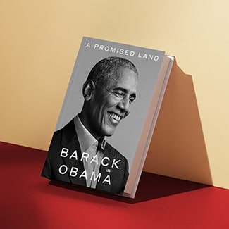 @indigo instagram post: JUST ANNOUNCED: Barack Obama is releasing the first volume of his presidential memoirs on November 17. A Promised Land i...