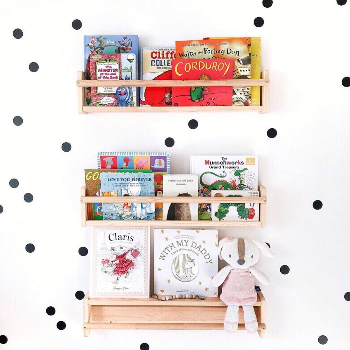 @indigobabyofficial instagram post: What's on your shelf this Father's Day? Give the gift of storytime with books baby and dad will cherish reading together...