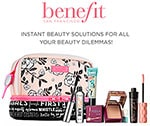 Enter for Your Chance to WIN* an Exclusive Prize Pack from Benefit Cosmetics - Enter for Your Chance to WIN* an Exclusive Prize Pack from Benefit Cosmetics