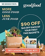 Special Offer - $90 off Goodfood - Special Offer - $90 off Goodfood