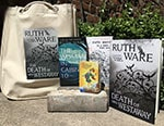 Enter for your chance to WIN* a Ruth Ware prize pack for your book club!  - Enter for your chance to WIN* a Ruth Ware prize pack for your book club!