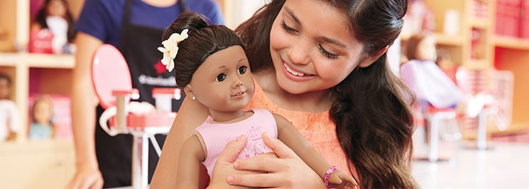 American Girl in-store events and promotions