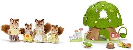 Calico Critters of Cloverleaf Corners