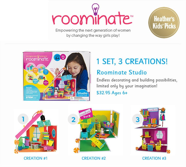 Roominate. Empowering the next generation of women by changing the way girls play!